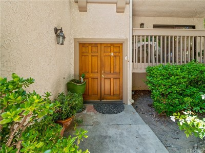 Calabasas Condo/Townhouse For Sale: 26020 Alizia Canyon Drive #A