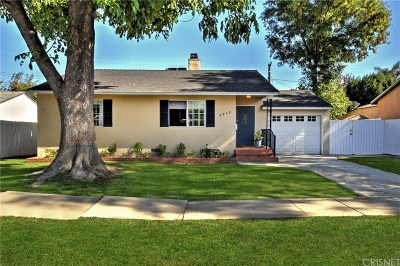 Encino Single Family Home Active Under Contract: 5932 Yarmouth Avenue