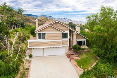 Newhall Single Family Home For Sale: 24155 Mentry Drive