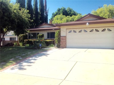 North Hills Single Family Home For Sale: 16507 Tuba Street