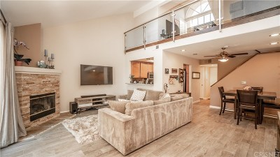 Chatsworth Condo/Townhouse For Sale: 11219 Sierra Pass Place