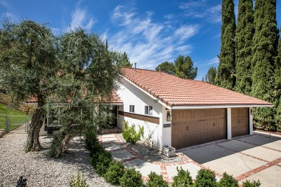 Agoura Hills Single Family Home Active Under Contract: 28602 Acacia Glen Street