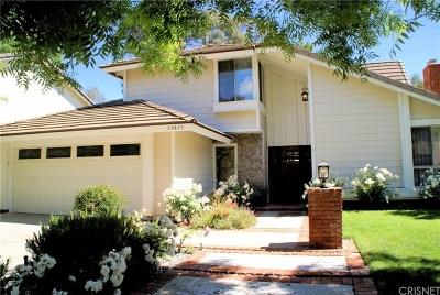 Valencia Single Family Home For Sale: 24633 Farrow Drive
