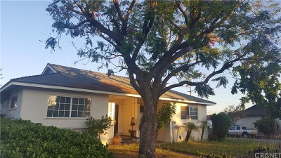 Sylmar Single Family Home For Sale: 14740 Hubbard Street