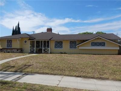 Northridge Single Family Home For Sale: 16833 Nordhoff Street