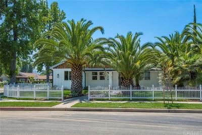 Sherman Oaks Single Family Home For Sale: 5121 Ranchito Avenue