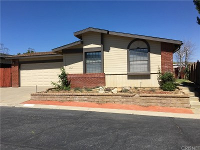 Castaic Single Family Home Active Under Contract: 31912 Citrine Court