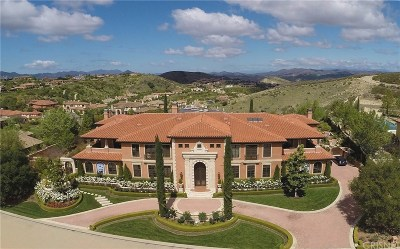 Calabasas CA Single Family Home For Sale: $9,935,000
