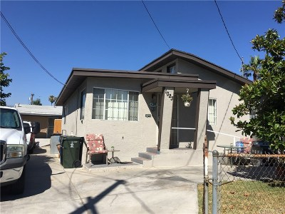 San Fernando Single Family Home For Sale: 1023 Griffith Street