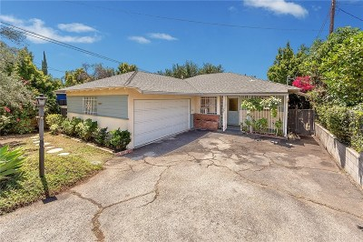 Sylmar Single Family Home Active Under Contract: 13817 Bromont Avenue