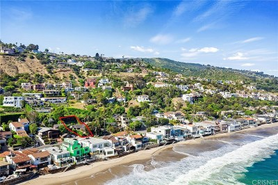 Malibu CA Single Family Home For Sale: $1,999,000