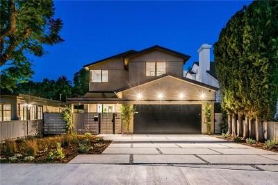 Sherman Oaks Single Family Home For Sale: 4224 Sunnyslope Avenue