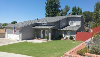 Canyon Country Single Family Home For Sale: 27923 Lost Springs Road
