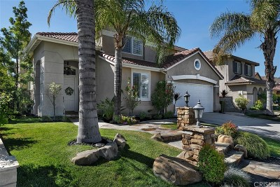 Stevenson Ranch Single Family Home Active Under Contract: 26056 Bates Place