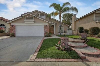 Santa Clarita, Canyon Country, Newhall, Saugus, Valencia, Castaic, Stevenson Ranch, Val Verde Single Family Home For Sale: 22222 Oxford Lane