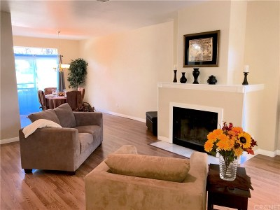 Stevenson Ranch Condo/Townhouse For Sale: 25959 Stafford Canyon Road #B