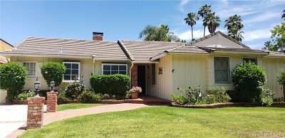 Encino Single Family Home For Sale: 15811 Moorpark Street
