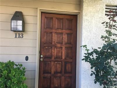 Woodland Hills Condo/Townhouse For Sale: 21551 Burbank Boulevard #113