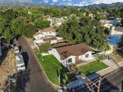 Sunland Single Family Home For Sale: 10742 Nassau Avenue