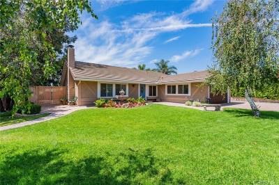 Simi Valley Single Family Home For Sale: 3012 Avenida Simi