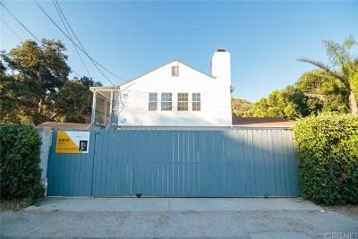 Tujunga Single Family Home For Sale: 7280 Las Plumas Lane
