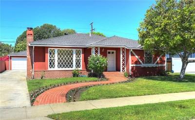 Sherman Oaks Single Family Home For Sale: 4733 Sunnyslope Avenue