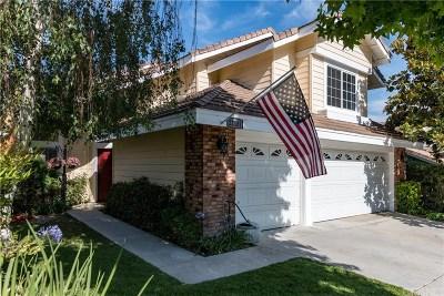 Santa Clarita, Canyon Country, Newhall, Saugus, Valencia, Castaic, Stevenson Ranch, Val Verde Single Family Home For Sale: 22131 Pamplico Drive