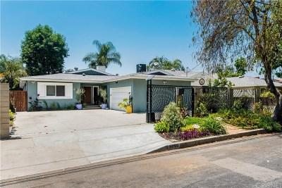 Valley Village Single Family Home Active Under Contract: 5719 Rhodes Avenue