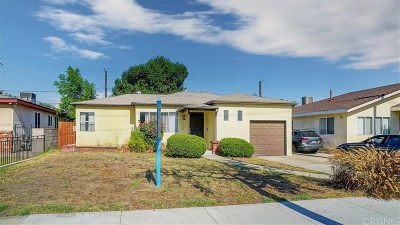 Burbank Single Family Home For Sale: 1118 North Reese Place