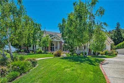 Calabasas CA Single Family Home For Sale: $3,195,000