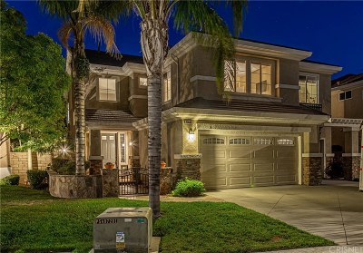 Santa Clarita, Canyon Country, Newhall, Saugus, Valencia, Castaic, Stevenson Ranch, Val Verde Single Family Home For Sale: 22409 Majestic Court