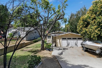 Newhall Single Family Home Active Under Contract: 25163 Wheeler Road