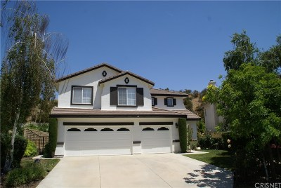 Castaic Single Family Home For Sale: 30560 Appalachian Drive
