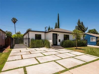 Encino Single Family Home For Sale: 5919 Shoshone Avenue