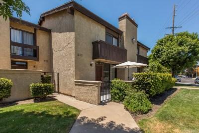 Panorama City Condo/Townhouse For Sale: 9625 Sylmar Avenue #4