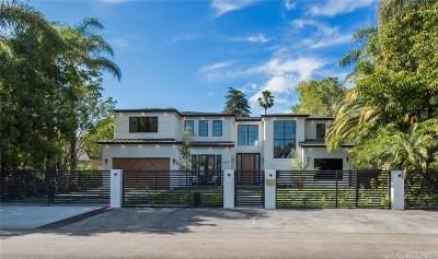 Studio City Single Family Home For Sale: 12627 Hortense Street