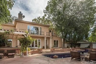 Woodland Hills Single Family Home For Sale: 22349 Dolorosa Street