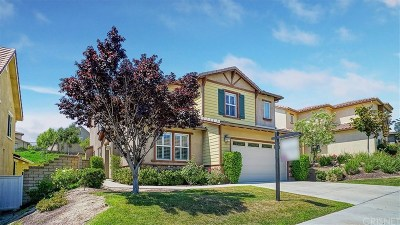 Saugus Single Family Home For Sale: 22531 Skipping Stone Drive