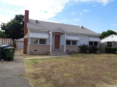 Sylmar Single Family Home For Sale: 14647 Polk Street