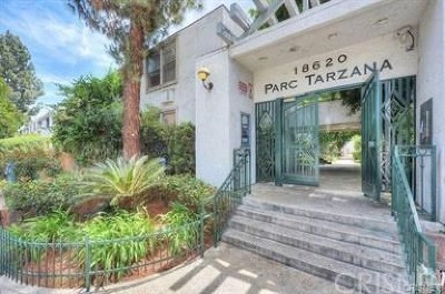 Tarzana Condo/Townhouse For Sale: 18620 Hatteras Street #266