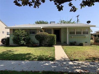 Los Angeles County Single Family Home For Sale: 17130 Strathern Street