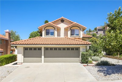 Saugus Single Family Home For Sale: 28341 Rodgers Drive