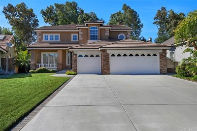 Canyon Country Single Family Home For Sale: 28222 Bel Monte Court