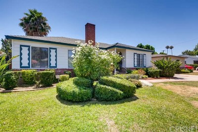 Reseda Single Family Home For Sale: 19554 Schoolcraft Street