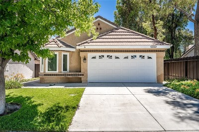 Canyon Country Single Family Home For Sale: 26764 Pamela Drive