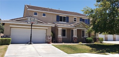 Lancaster Single Family Home For Sale: 43892 Danya Lane