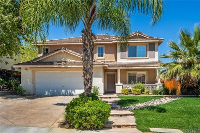 Castaic Single Family Home For Sale: 32632 The Old Road