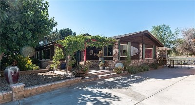 Acton Single Family Home For Sale: 31731 Indian Oak Road