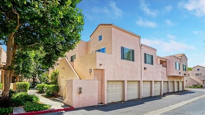 Newhall Condo/Townhouse Active Under Contract: 21358 Nandina Lane #201