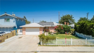 Rosamond Single Family Home For Sale: 3122 Shelley Street